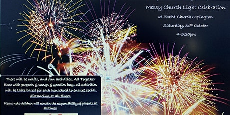 Messy Church - Light Celebration tickets
