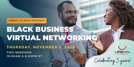 Black Business Virtual Networking tickets