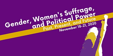 Gender, Women's Suffrage, and Political Power Conference (GWSPP) tickets