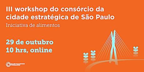 III workshop da Iniciativa de Alimentos ingressos