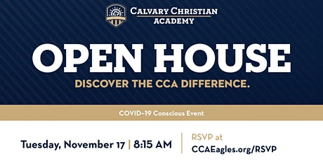 Calvary Christian Academy Open House (Pre-K–12th Grade) tickets