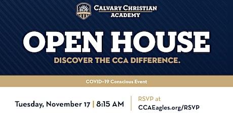 Calvary Christian Academy Open House (Pre-K–12th Grade) tickets