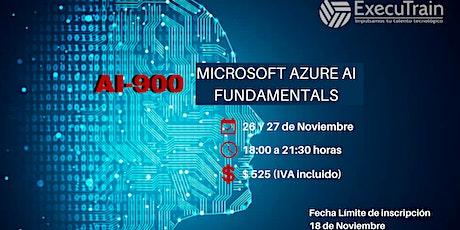 CURSO AI900 MICROSOFT AZURE AI FUNDAMENTALS entradas