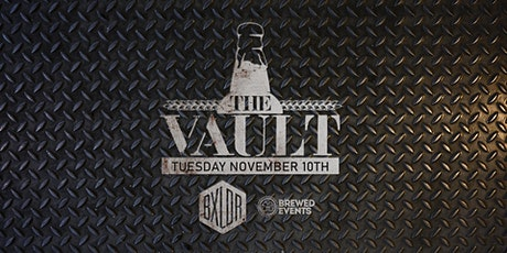 The Vault - Craft Beer Experience - November 10th, 2020 tickets