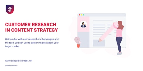 Customer Research in Content Strategy tickets