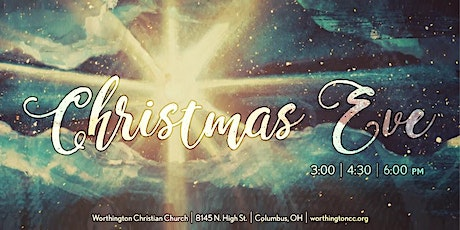 Christmas Eve at 3:00 PM tickets