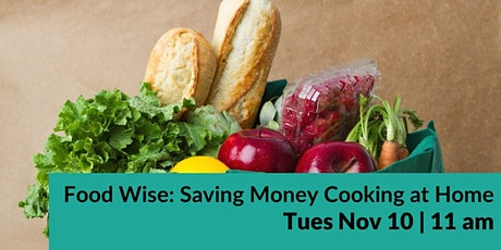 Food Wise: Saving Money Cooking at Home with TCU Nutritional Sciences Dept! tickets