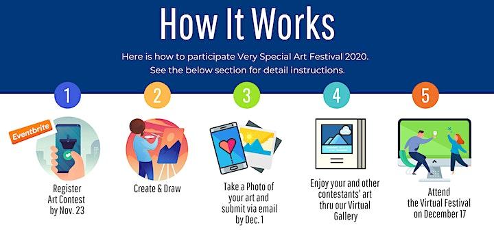 CIDA Very Special Art Festival 2020 (Art Contest Registration) image