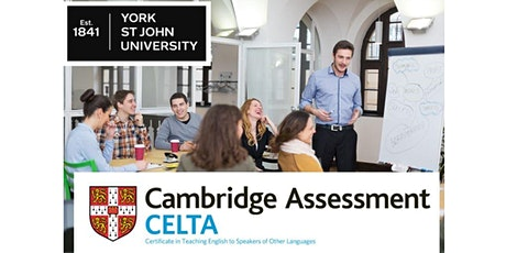 CELTA at York St John University Taster Session 2020 tickets