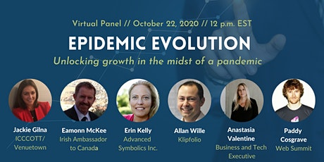 Epidemic Evolution: Unlocking Growth in the Midst of a Pandemic tickets