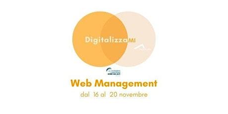 Corsi DigitalizzaMI - Corso Web Management biglietti