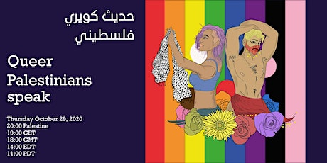 Queer Palestinians talk: identity within and without the diaspora tickets