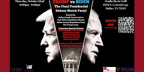 The Final Presidential Debate Watch Party - The Official Trump Watch Party! tickets