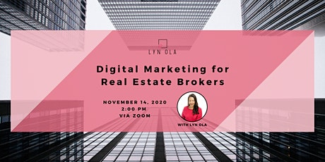 Digital Marketing for Real Estate Brokers tickets