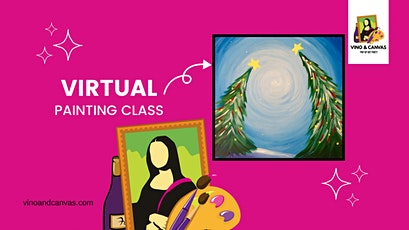 Holiday Glow Virtual Painting Class tickets