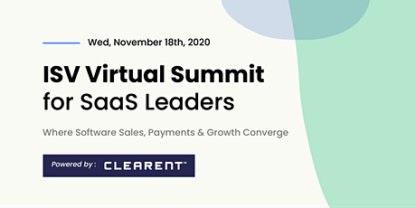 Clearent's ISV Virtual Summit tickets