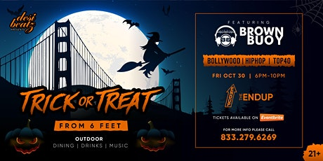Trick Or Treat from 6 Feet (Exclusive Event) tickets