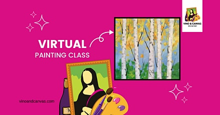Birch Trees Virtual Painting Class tickets