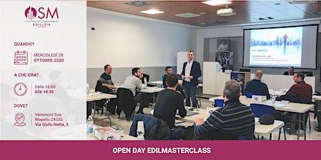 Open day Business School OSM Edilizia biglietti