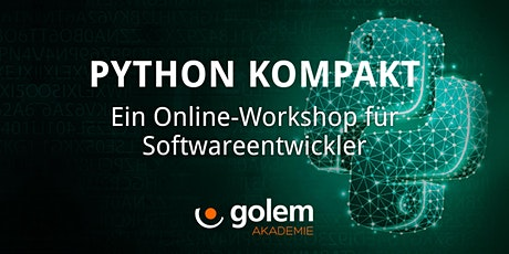 Python kompakt –  Ein Online-Workshop für Softwareentwickler Tickets