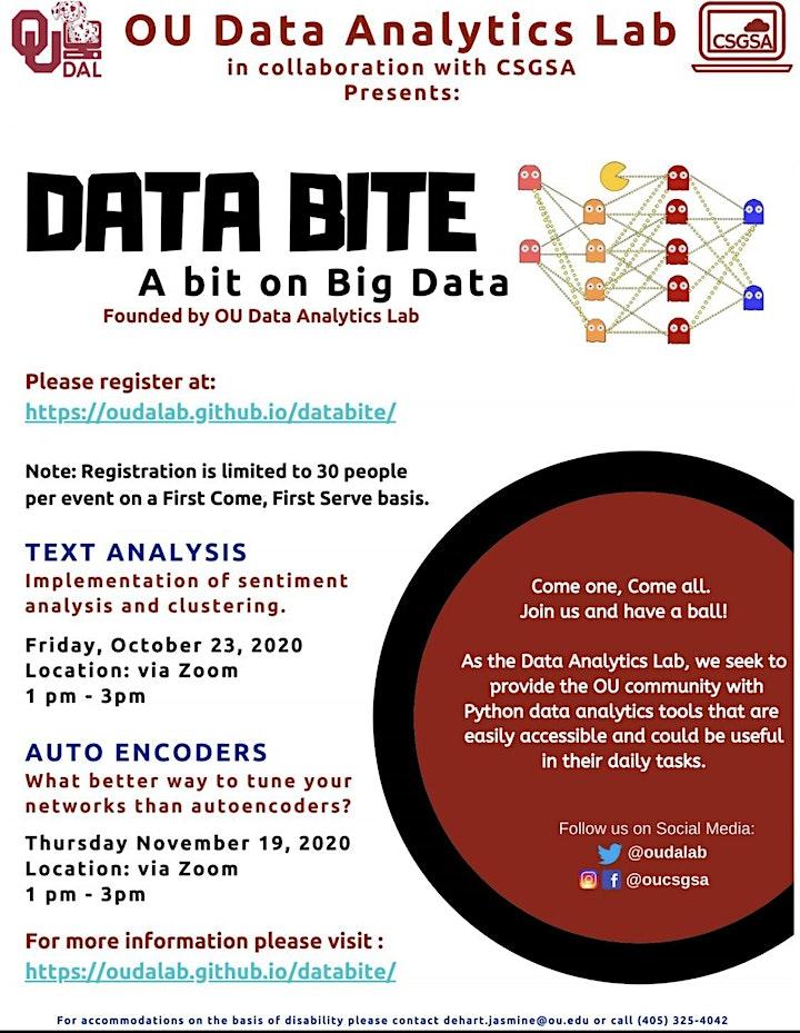 OU DAL: DataBite Text Analysis image