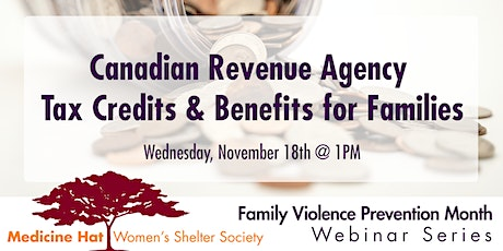 CRA Tax Credits & Benefits for Families tickets