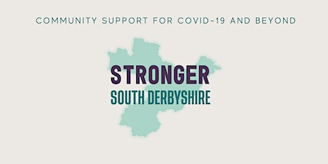 Online South Derbyshire Community Forum 30 October: Virtual & Online Giving tickets