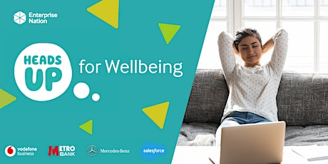 Heads Up for Wellbeing tickets