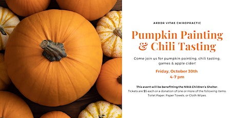 Pumpkin Painting And Chili Tasting tickets