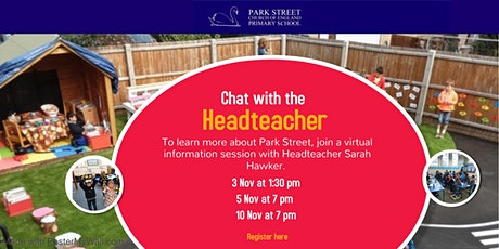 Chat with the Headteacher tickets