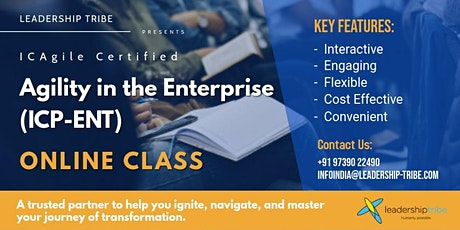 Agility in the Enterprise (ICP-ENT) | Virtual Classes - February 2021 tickets