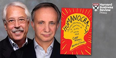 HBR Live Webinar: Humanocracy with Gary Hamel and Michele Zanini tickets