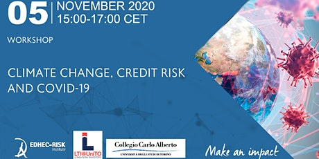 CLIMATE CHANGE, CREDIT RISK AND COVID-19 tickets