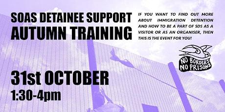 SDS Autumn Training tickets