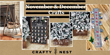November 4th Public Workshop at The Crafty Nest  - tickets