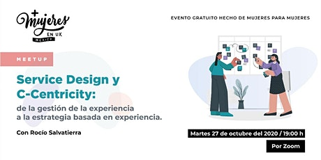 +Mujeres en UX México Reunión Virtual Octubre 2020 tickets
