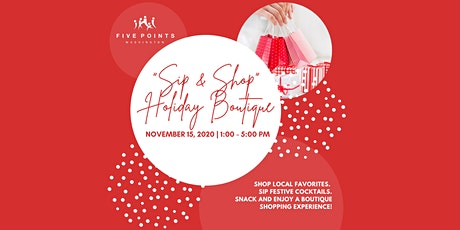 Sip & Shop Holiday Boutique tickets