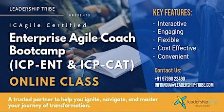 Enterprise Agile Coach Bootcamp (ICP-ENT & ICP-CAT) | Virtual - February tickets