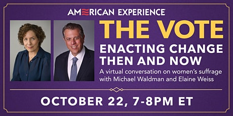 The Vote: Enacting Change Then and Now tickets