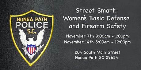Street Smart: Women's Basic Defense and Firearm Safety tickets