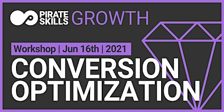 Conversion Optimization | Workshop tickets