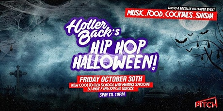 Holler Back's Hiphop Halloween on the Terrace tickets