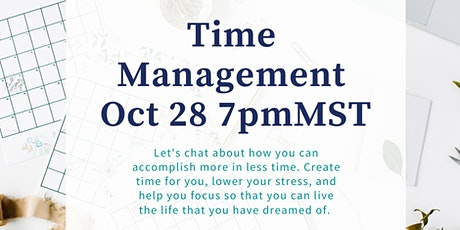 Time Management for the Busy Mom and Business Owners tickets