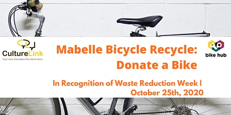 Donate a Bike: Mabelle Bicycle Recycle tickets
