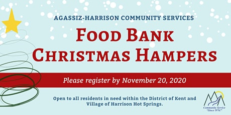 Food Bank Christmas Hampers (Agassiz-Harrison) tickets