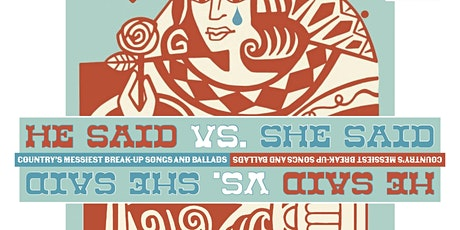 Amplify Presents: He Said Vs. She Said tickets