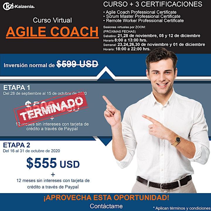 Imagen de Curso virtual Agile Coach