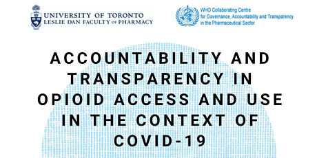 Accountability and Transparency in Opioid Access and Use in COVID-19 tickets