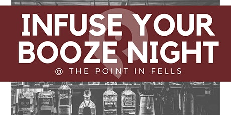 Infuse Your Booze Night tickets