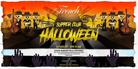 Halloween Supper Club by French Tuesdays tickets